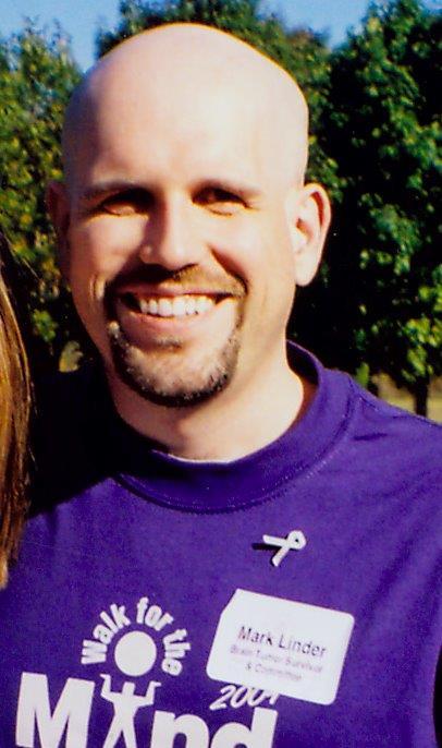 Mark Linder-Purple Tshirt